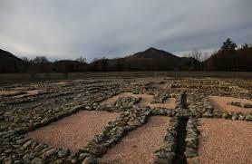 Marzabotto. Rester af etruskiske huse. 5 årh. f.Kr.
